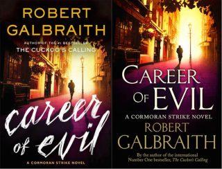 Le copertine originali di La via del male, in inglese, Career of Evil