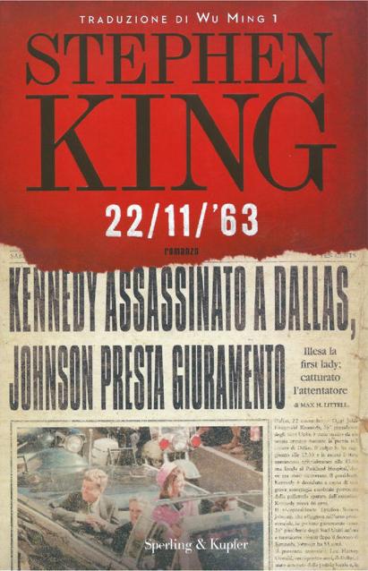 22/11/'63 Book Cover