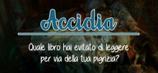 book tag - accidia