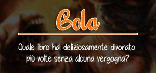book tag - gola